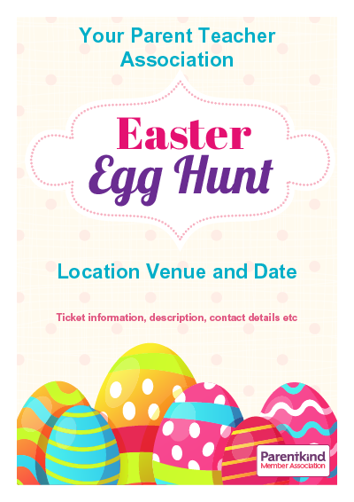 Picture of A3 Easter Egg Hunt Poster