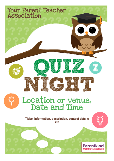 Picture of A3 Quiz Night Poster