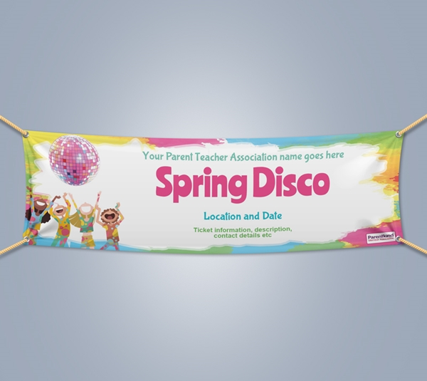 Picture of Disco Landscape Outdoor PVC Banner - 1m x 3m