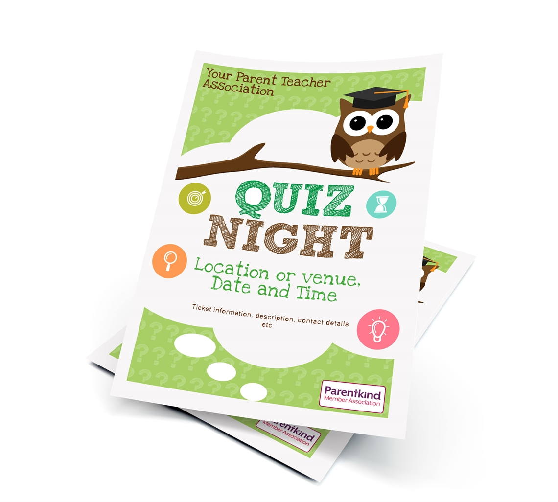 Picture of A5 Quiz Night Leaflets