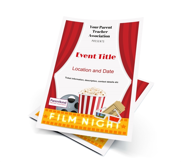 Picture of A3 Film Night Poster