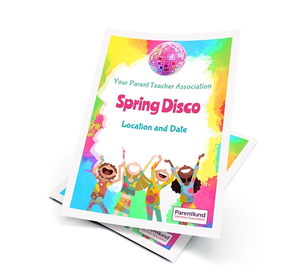 Picture of A2 Disco Poster