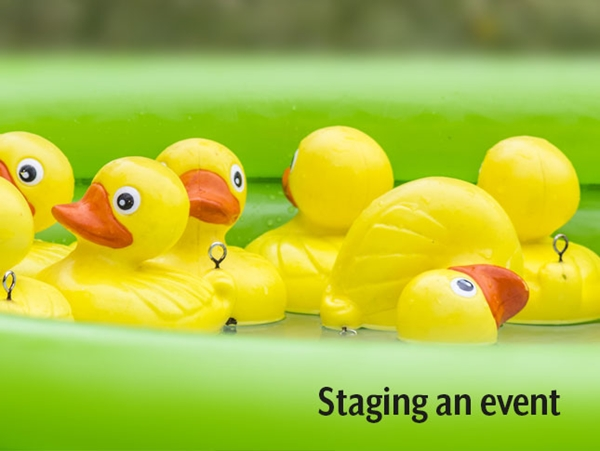 Picture for category Staging an Event