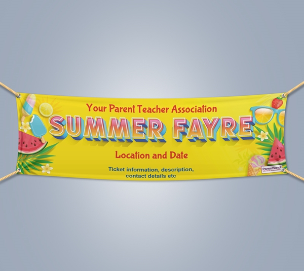 Picture of Summer Landscape Outdoor PVC Banner - 1m x 4m