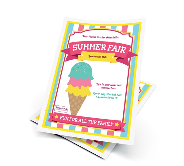 Picture of A6 Summer Fair Leaflets