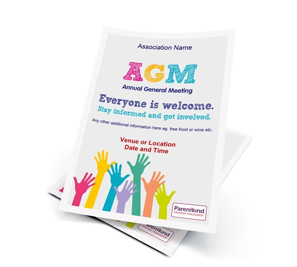 Picture of A6 AGM Leaflets